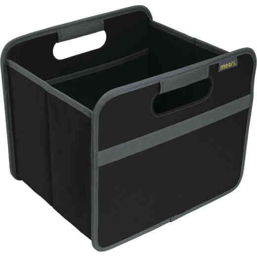 Meori 1-Compartment Lava Black Foldable Reusable Box